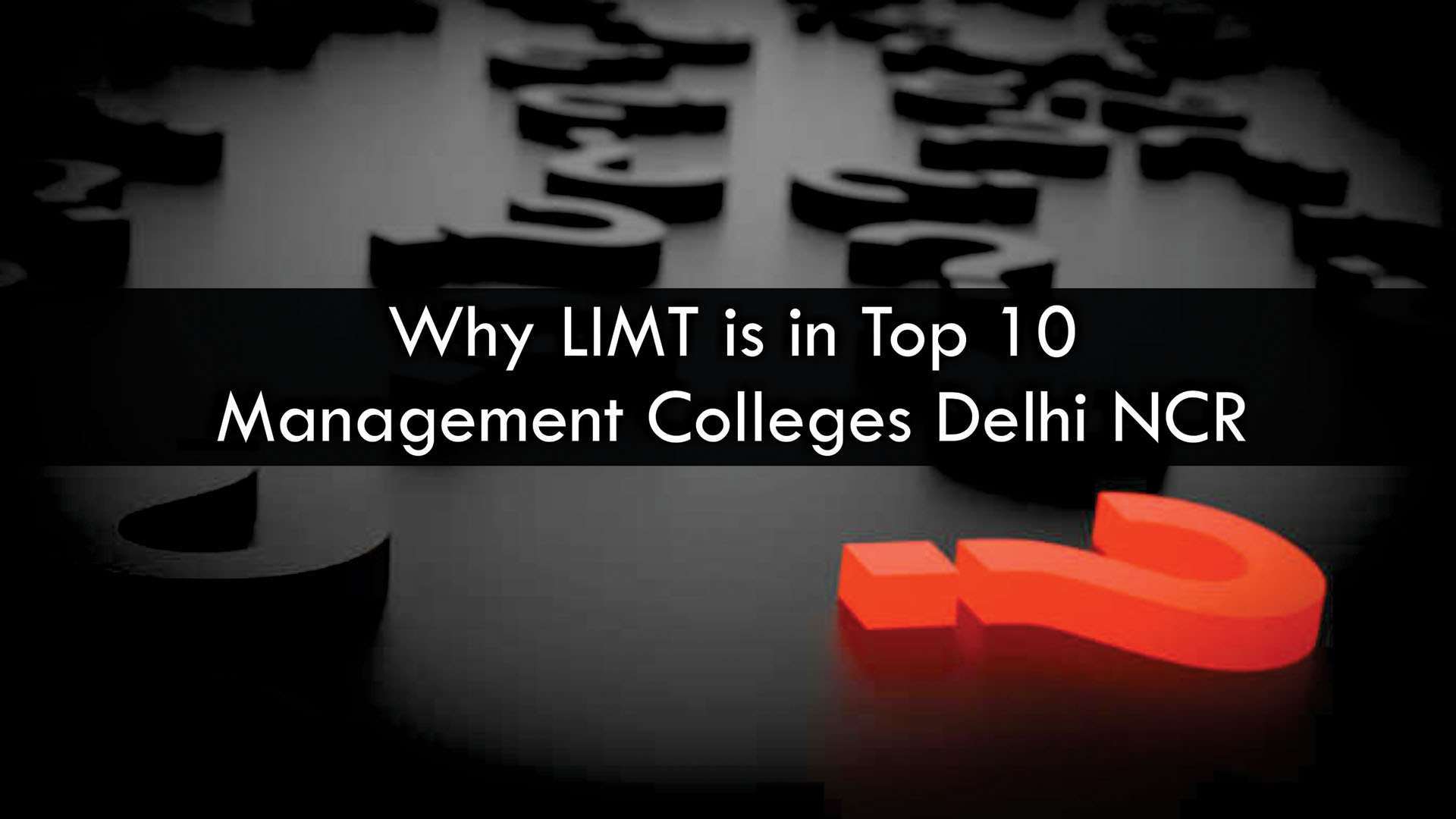 why limt is in top 10 management colleges delhi ncr