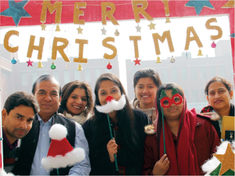 Christmas Celebration Management College in Noida