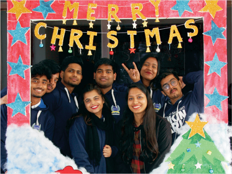 Christmas Celebration at PGDM college