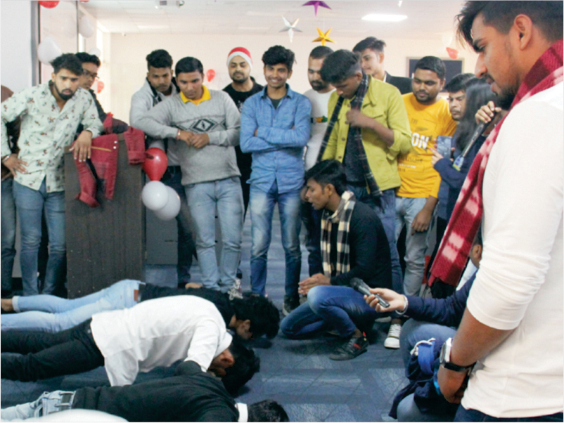 Christmas Celebration at Data Science Course