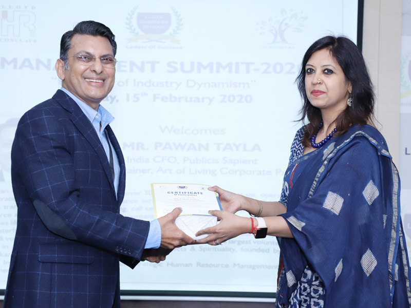 management-summit-2020-eminent-guest-welcome-4 lloyd Business School
